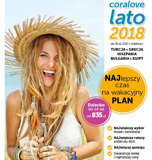 Start sprzedaży Coralove Lato czyli first minute 2018 Wezyr w Krakowie!