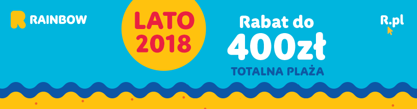 Rainbow lato 2018 pod hasłem Totalna Plaża wystartował