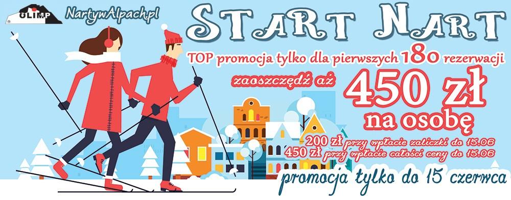 Olimp Travel Kraków start sprzedaży narty zima 2019 autokarem dojazd własny