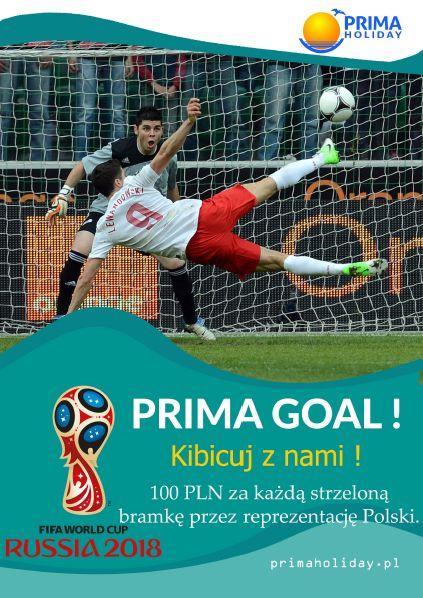 Prima Holiday promocja Prima gol na mundial w Rosji 2018 za każda bramke 100zl