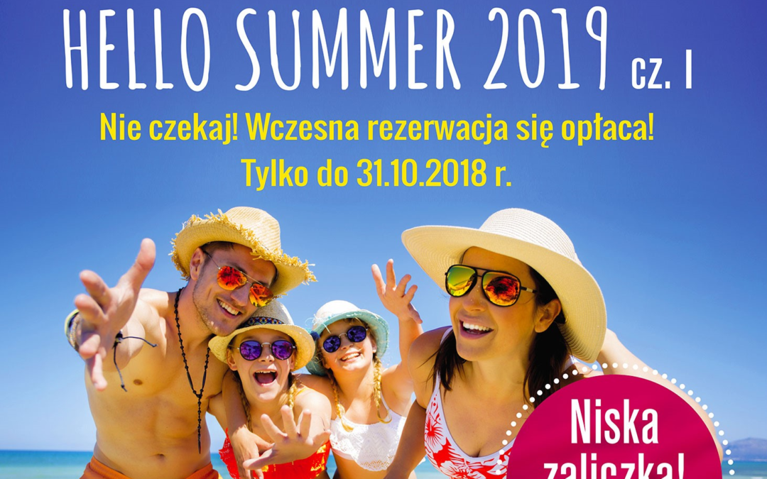Exim Tours Hello Summer cz.I. już w sprzedaży lato 2019