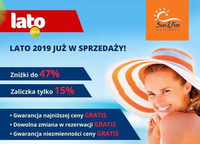 Sun & Fun promocja First Call nr 1 lato 2019