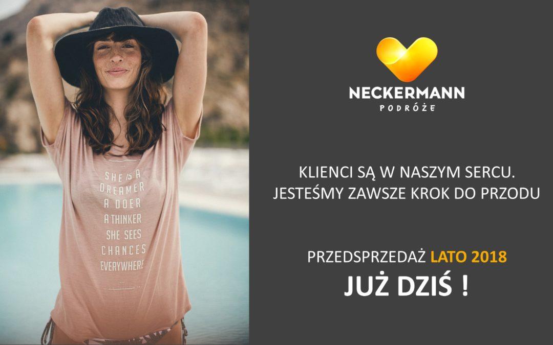 Rozpoczęcie przedsprzedaży ofert Lato 2018 Neckermann Kraków