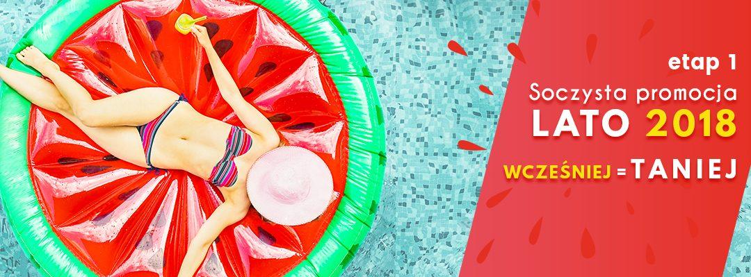 Promocja Wcześniej = Taniej LATO 2018 Rego Bis – start sprzedaży ofert letnich