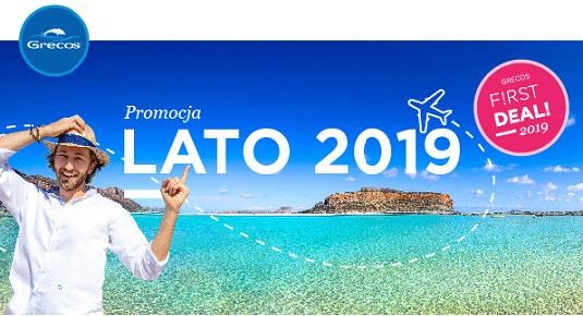Przedsprzedaż ofert LATO 2019 Grecos Holiday