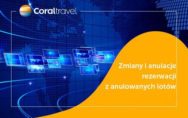 komunikat Coral Travel / Wezyr w sprawie anulacji wylotów i zmian w rezerwacji – koronawirus